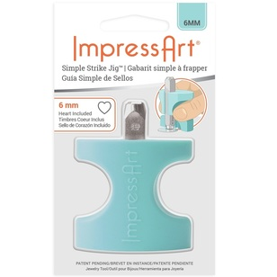 ImpressArt Simple Strike Jig With Heart Stamp