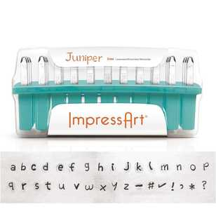 ImpressArt Juniper Lowercase