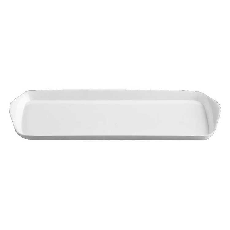 Superware Rectangle Tray White 37 cm