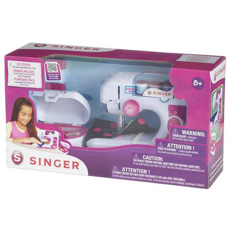 Singer EZ Toy Starter Sewing Machine Set White