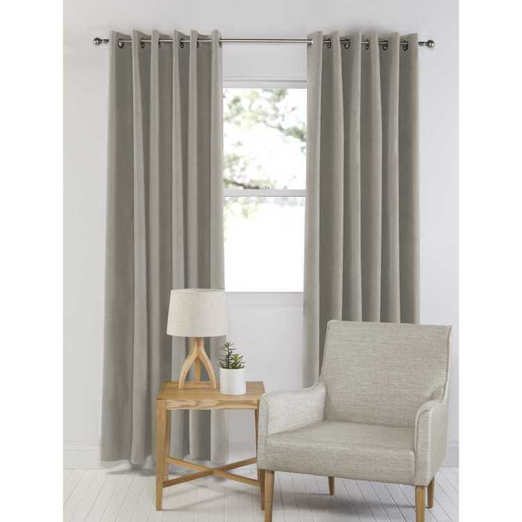 dwell austin eyelet curtain