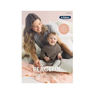 Patons Peaceful Designs Baby And Toddler 1104 Pattern Book