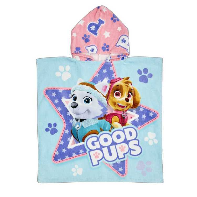 Disney Paw Patrol Skye Hooded Towel Pink