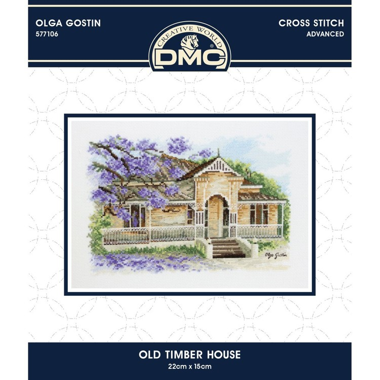 DMC By Leuts X-Stitch Old Timber House