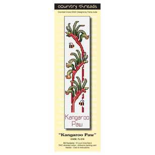 Country Threads Kangaroo Paw Cross Stitch