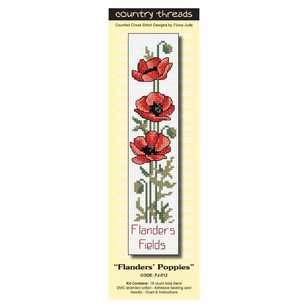 Country Threads Flanders Fields Cross Stitch