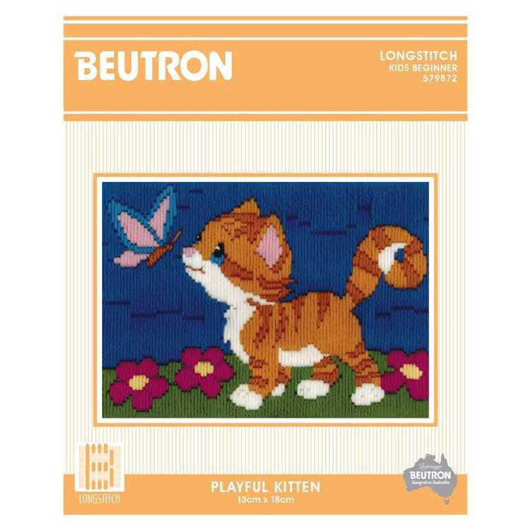Beutron Playful Kitten Long Stich Kit