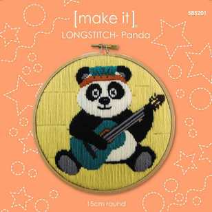 Make It Long Stitch Panda Hoop Kit