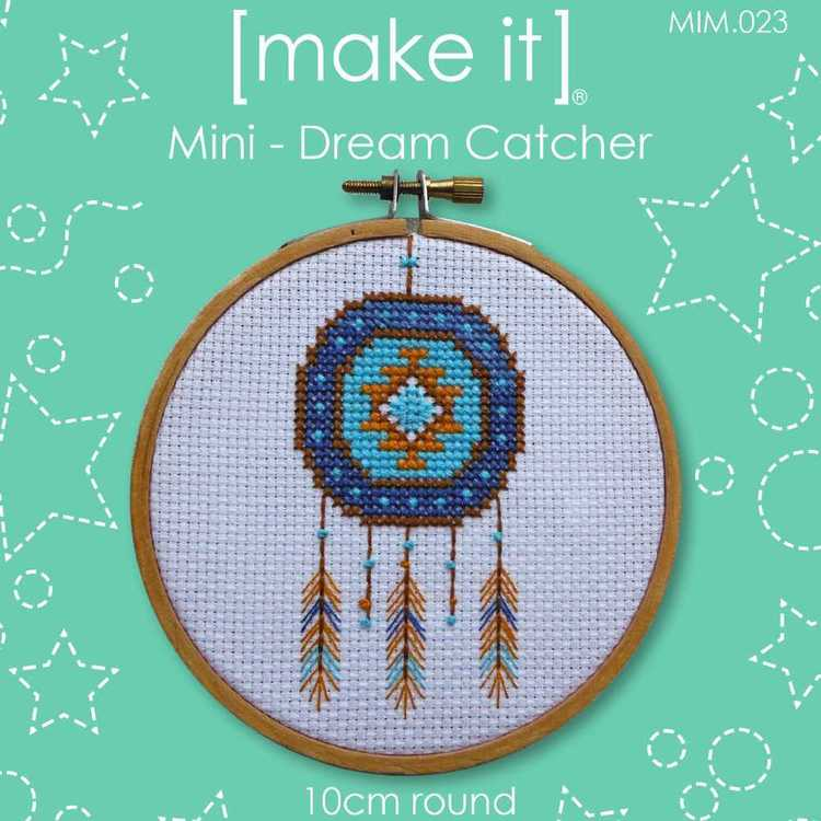 Make It Cross Stitch Dream Catcher Hoop Kit