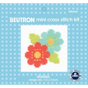 Beutron Flowers Cross Stitch Kit