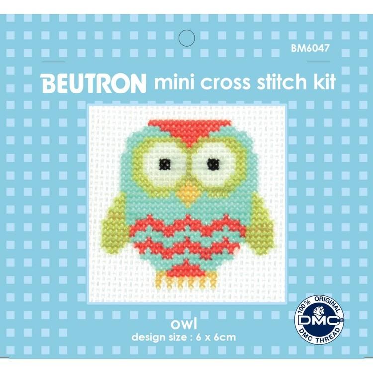 Beutron Owl Cross Stitch Kit
