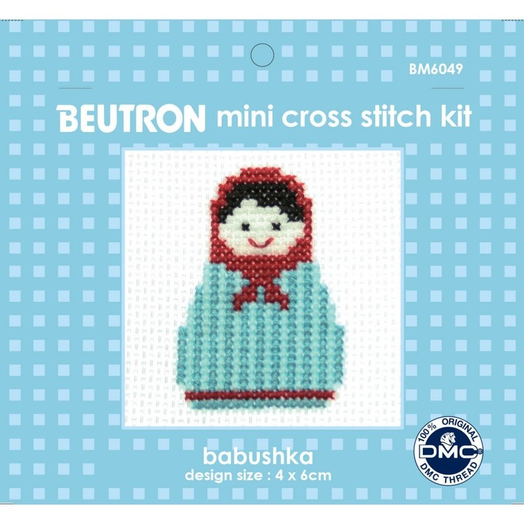 Beutron Babushka Cross Stitch Kit