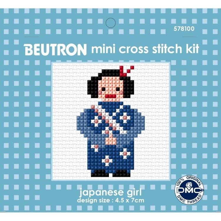 Beutron Japanese Girl Cross Stitch Kit