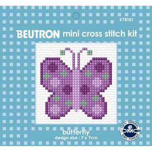 Beutron Butterfly Cross Stitch Kit