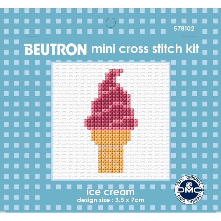 Beutron Ice Cream Cross Stitch Kit