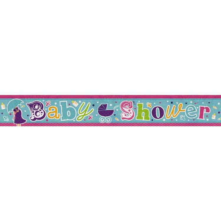 Amscan Holographic Baby Shower Banner
