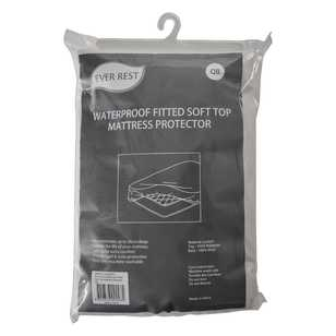 Ever Rest Waterproof Fitted Soft Top Mattress Protector