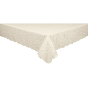 Ladelle Amy Panel Lace Tablecloth