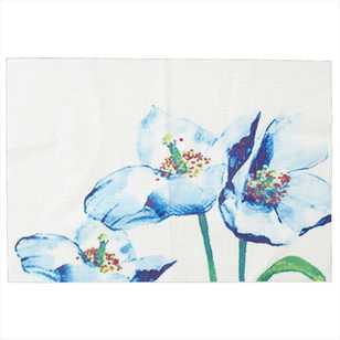 WAM Floral Printed PVC Placemat