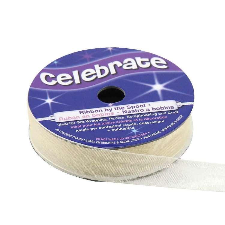 Celebrate 12 mm Organdie Ribbon
