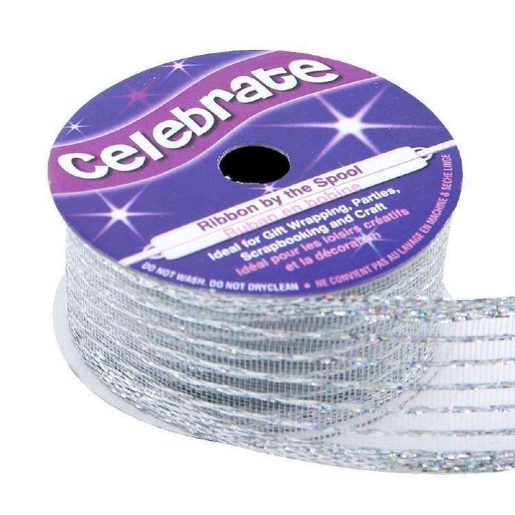 Celebrate Organdy Wire Edge Ribbon