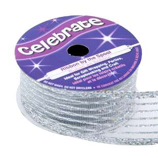Celebrate Organdy Wire Edge Ribbon