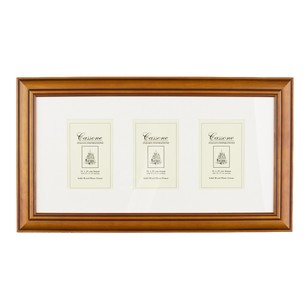 Unigift Cassone 3 Vertical Open Wooden Matted Frame