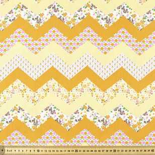 Retro Bliss Chevron Fabric