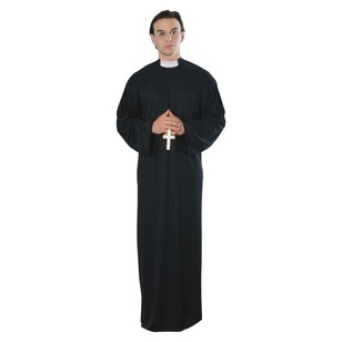 Sparty's Priest Man Costume - Everyday Bargain