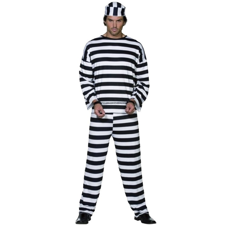 Sparty's Prison Man Costume - Everyday Bargain