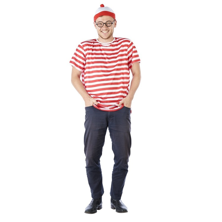 Sparty's Stripe Man Costume - Everyday Bargain