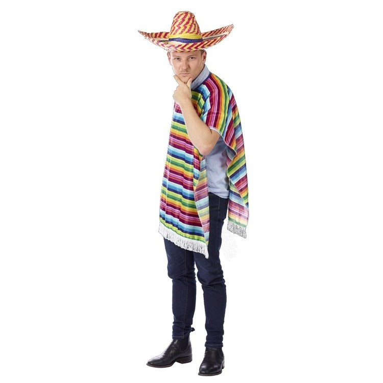 Sparty's Mexican Poncho