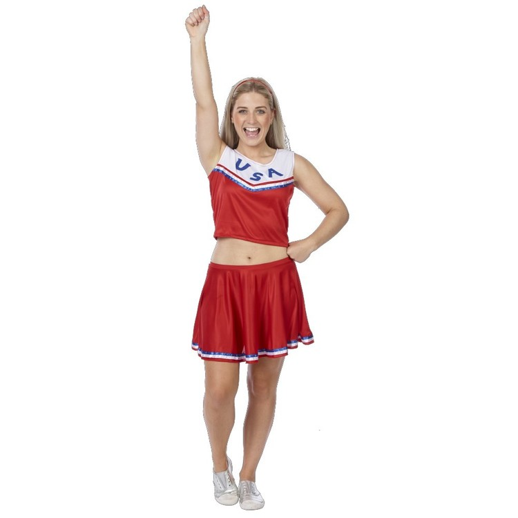 Sparty's Cheer Leader Lady Costume - Everyday Bargain