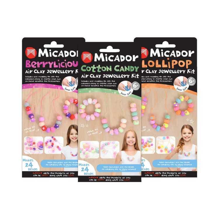 Micador Air Clay Berrylicious Jewellery Kit