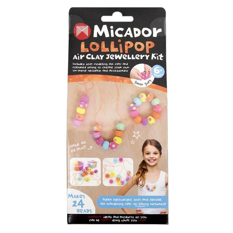 Micador Air Clay Lollipop Jewellery Kit