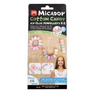 Micador Air Clay Cotton Candy Jewellery Kit