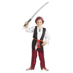 Pirate Boy Costume - Everyday Bargain
