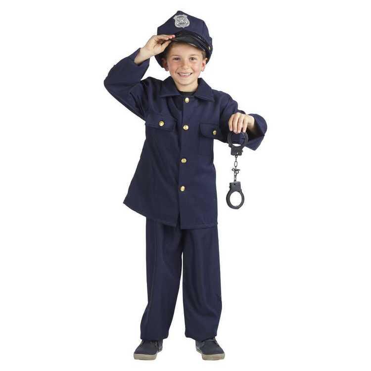 Police Boy Costume