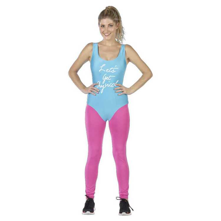 80s Workout Lady Costume
