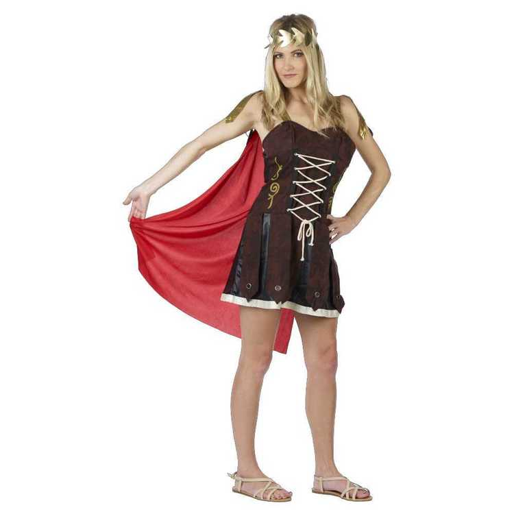 Roman Soldier Lady Costume