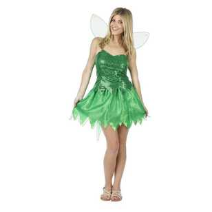 Green Fairy Costume Green