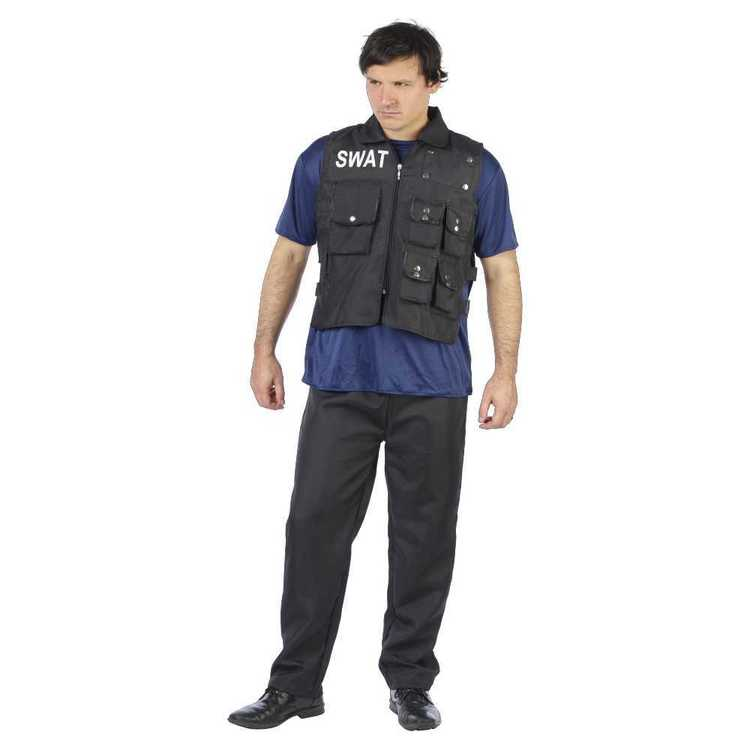 S.W.A.T Costume Navy - Everyday Bargain