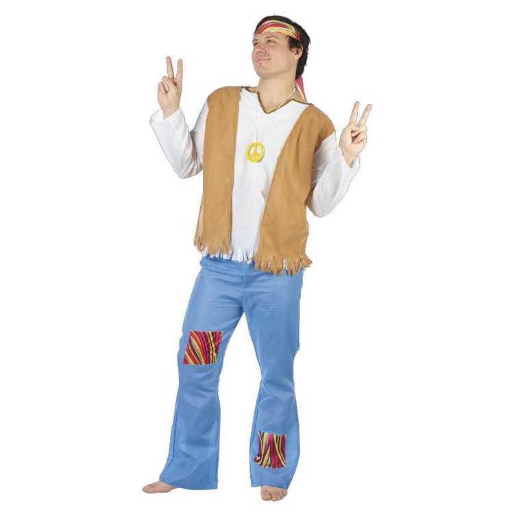 Hippie Man Costume - Everyday Bargain