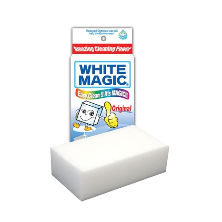 White Magic Eraser Sponge White