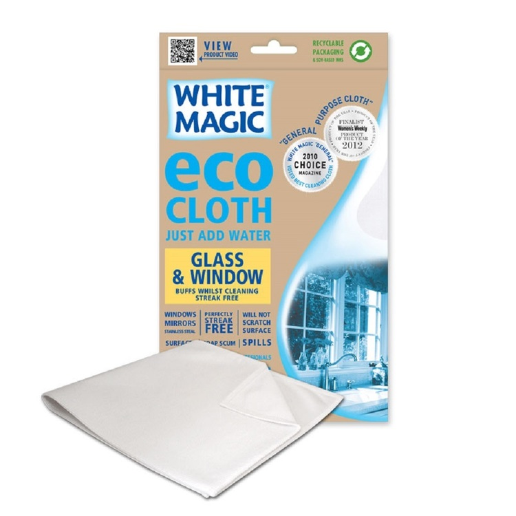 White Magic Window & Glass Eco Cloth