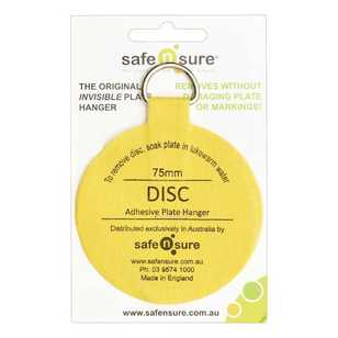 Safe N Sure Invisible Plate Hanger Disc