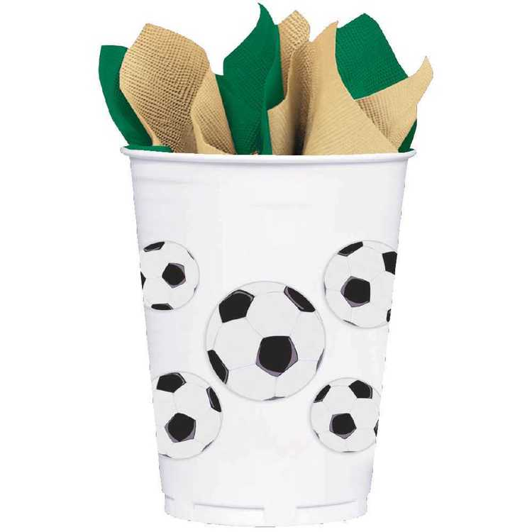 Amscan Soccer Plastic Party Cup
