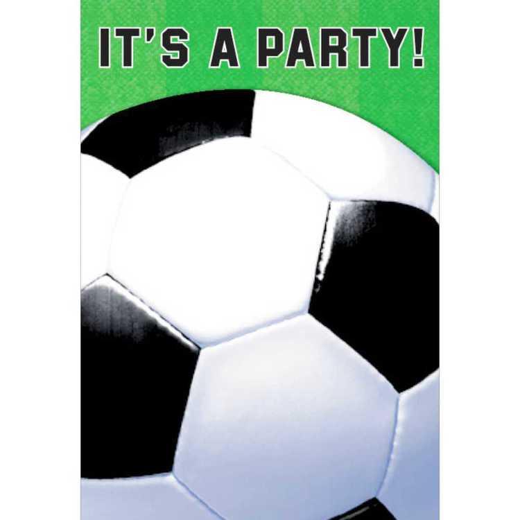 Amscan Soccer Invite
