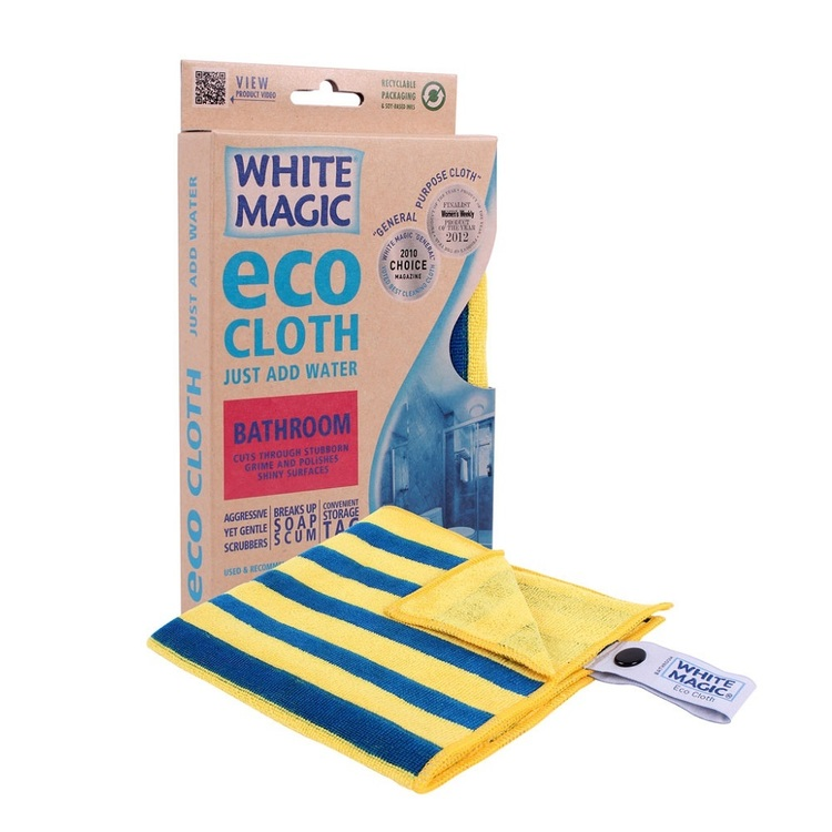 White Magic Bathroom Eco Cloth