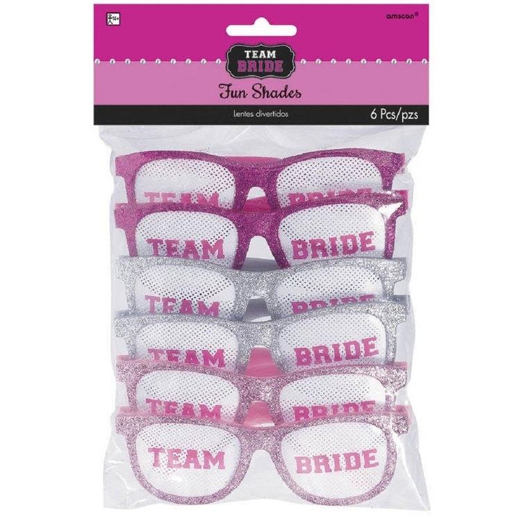 Girls Night Out Team Bride Fun Shades